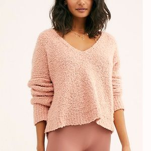 Free People Finders Keepers Sweater XL Pink